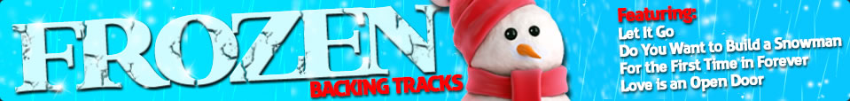 Frozen Backing Tracks