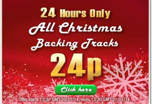 Christmas Backing Tracks – 24p for 24 Hours – Shiny Music